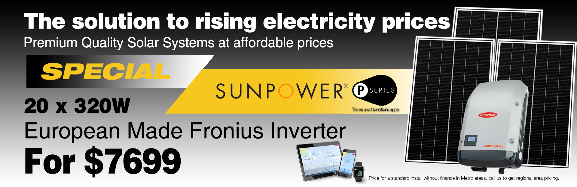 Sunpower special Slider