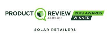 Product Review 2019 Awards Winner in Solar Retailers